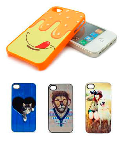 Чехол IPK01 iPhone cover белый (IPhone 4/4S пластик)